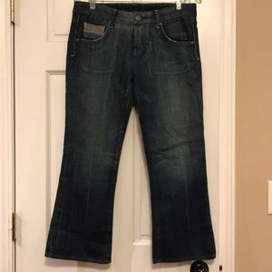 Citizens of Humanity Wide Leg Crop Jeans 28
